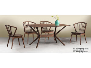 Austin 4/6 Seater Dining Set (DA1697DT + DA819 Chair)