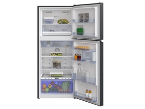 Beko Top Freezer 375L Fridge (Dark Inox Color)