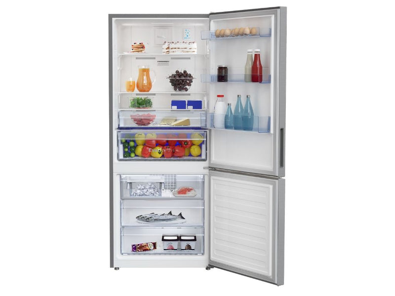 Beko Bottom Freezer 415L Fridge (Platinum Color)