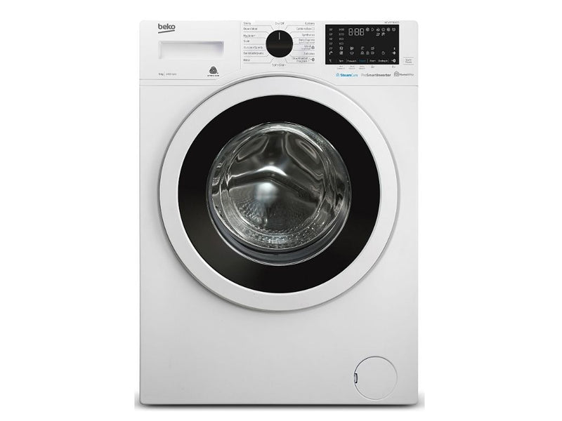 Beko 9kg Washer with Bluetooth & SteamCure – 4 ✓ ✓ ✓ ✓ (WCV9736XC0)