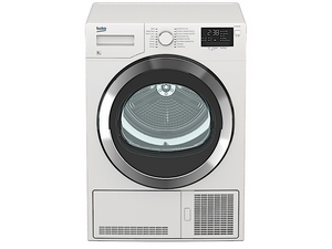Beko 9Kg Condenser Dryer (DCY9402GXB1) + FREE Stacking Unit