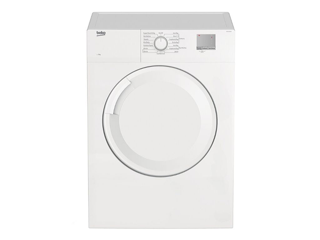 Beko 7Kg Vented Dryer (DTGV7001W) + Free Stacking Unit