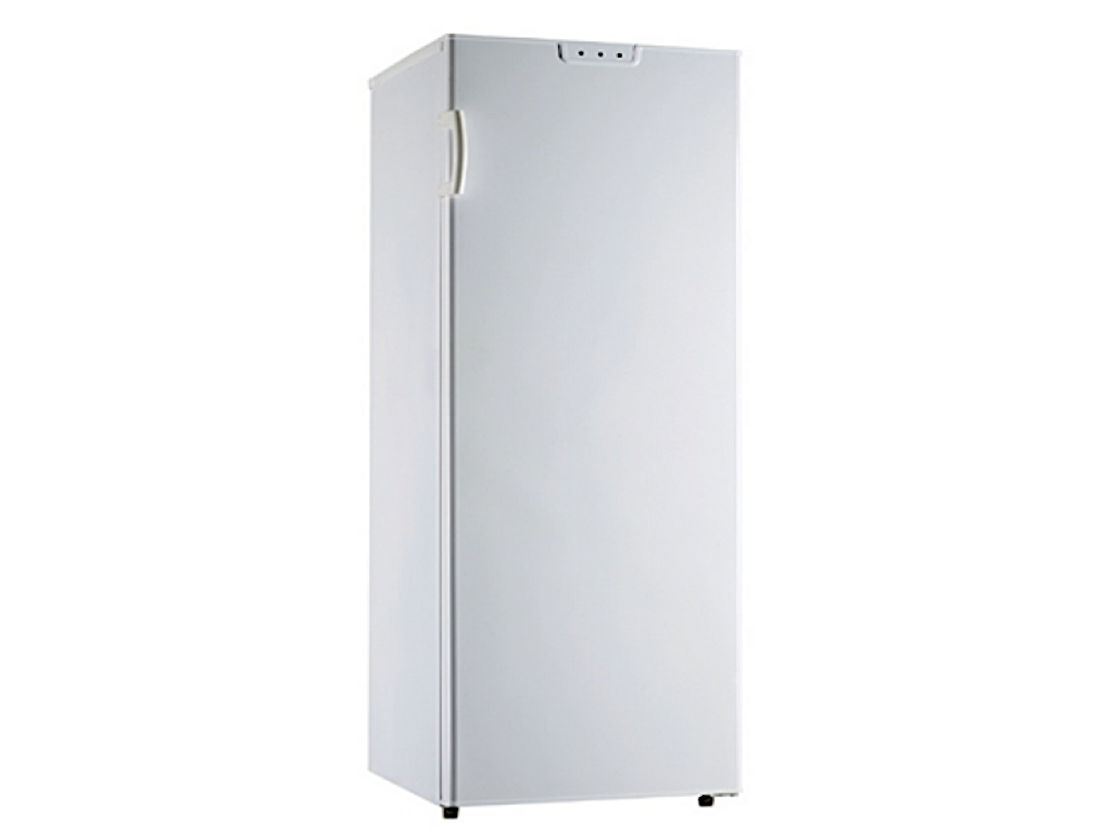 Butterfly 190L upright freezer with 5 transparent drawers + 1 pull up flap compartment