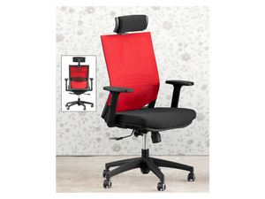 Casey Ergonomic Office Chair (DA916-OC) Red