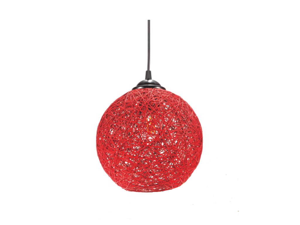 Charm Bloom Pendant Lamp, HLD-1 (Red)