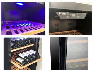 Chateau Wine Cooler (50 Bottles), CW50THSNS