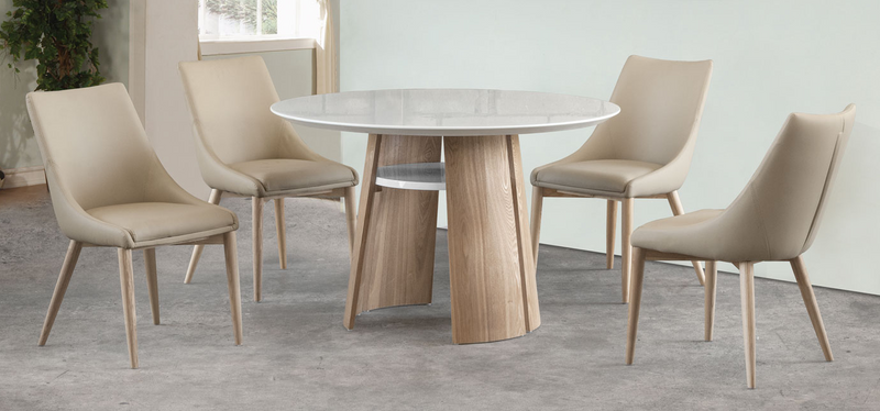 Mulberry 4 Seater Round Table Dining Set (DA3057DT)