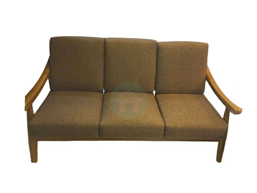 Wooden Sofa Set with Fabric Covers (DA309)
