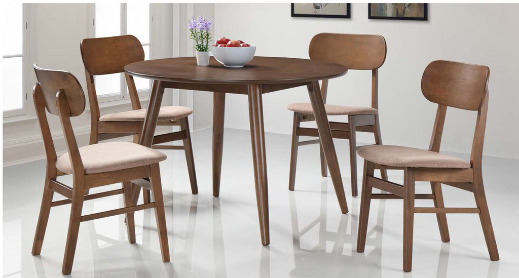 Kenny 4 Seater Round Table Dining Set (DA403)