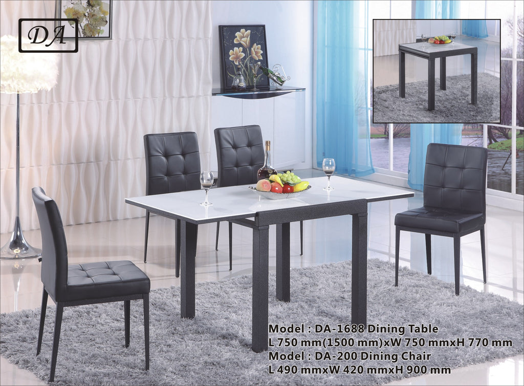 Mitch Extendable Table Dining Set (DA1688)