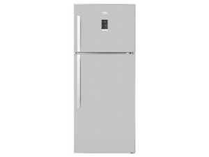 Beko Top Freezer 560L Fridge (Stainless Steel)