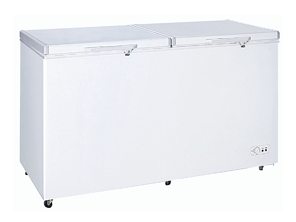 Farfalla 2 Door Chest Freezer (398L) FCF-398A