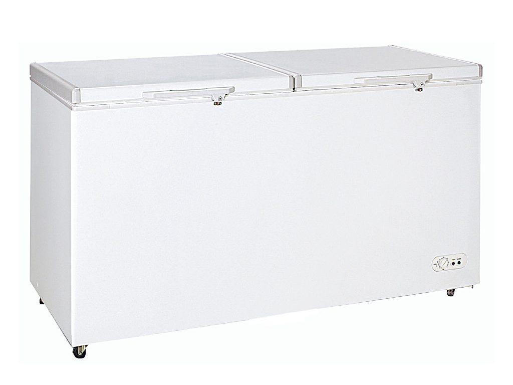 Farfalla Dual Function 2 Door Chest Freezer (530L) FCF-530W
