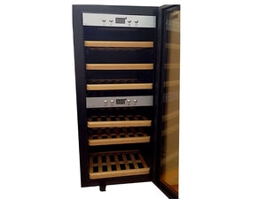 Farfalla Dual Temperature Wine Cooler (24 Bottles), FWC-24S3G