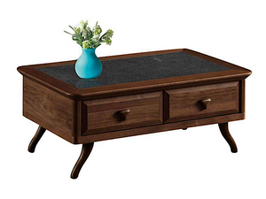 Nick Lavastone Design Tempered Glass Coffee Table (DA6414)