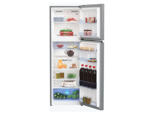 Beko Top Freezer 270L Fridge (Platinum Color) - Latest Model!
