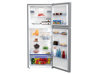 Beko Top Freezer 440L Fridge (Stainless Steel) – 2 ✓ ✓