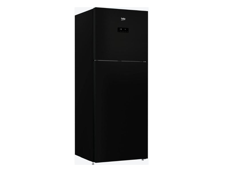 Beko Top Freezer 470L Fridge (Glass Black) - Latest Model!