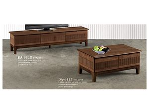 Riki Solid Wood Coffee Table (DA6415)