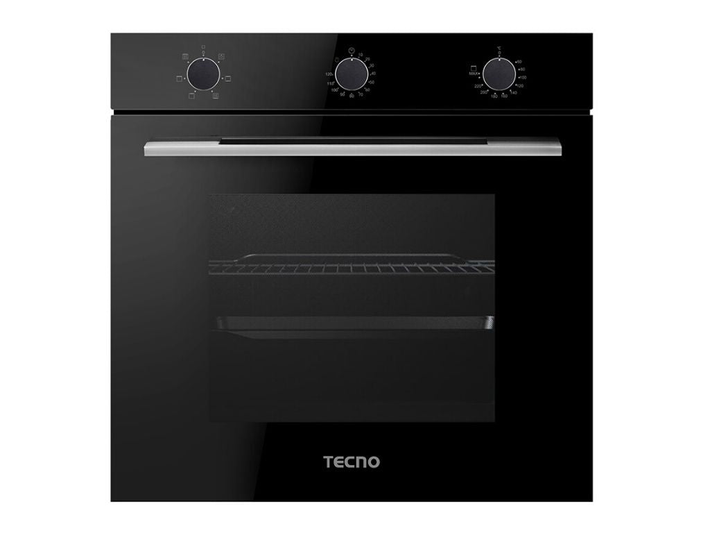 TECNO 73L 6 Multi-Function Built-In Oven, TBO-7006 (Black)