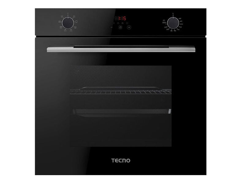 TECNO 73L 8 Multi-Function Built-In Oven, TBO-7008 (Black)