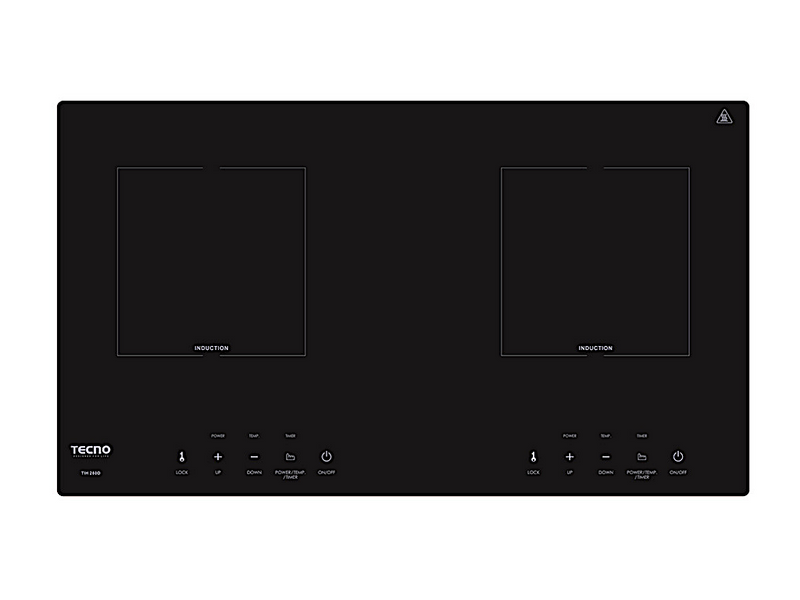 TECNO 2-Burner Built-In Induction Cooker Hob (TIH 280D)