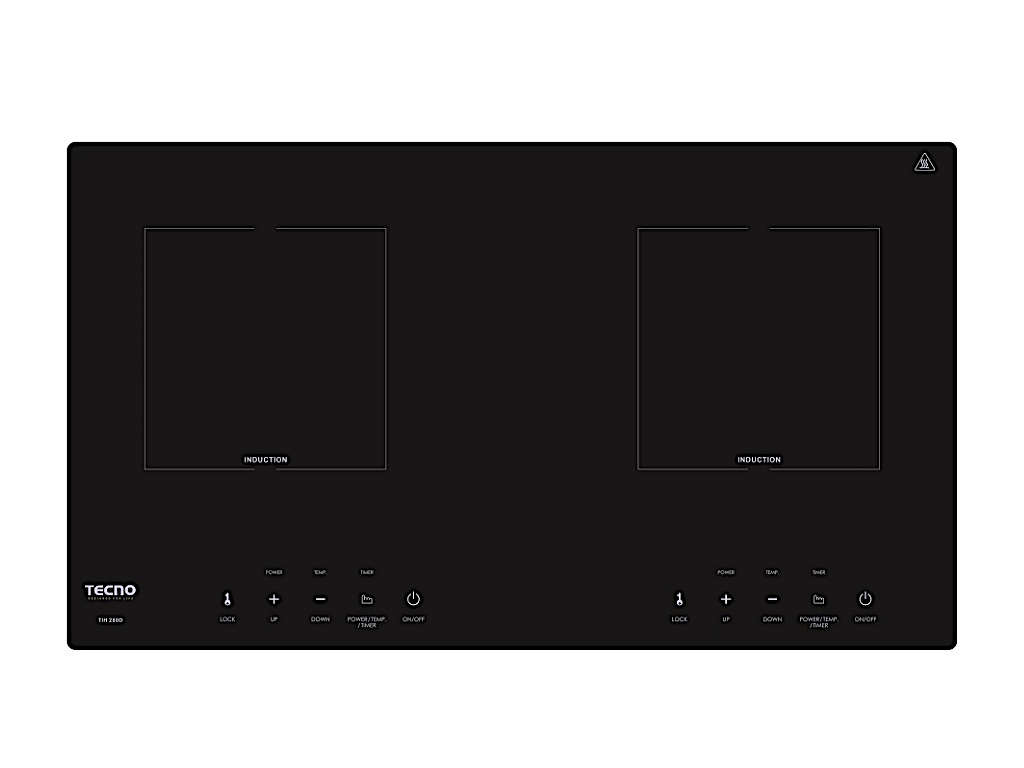 TECNO 2-Burner Built-In Induction Cooker Hob (TIH 282S)