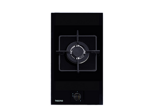 Tecno 1-Burner 30cm Tempered Glass Domino Cooker Hob (TA 311TRSV)