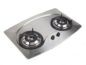 Tecno 70cm 2-Burner Stainless Steel Cooker Hob (MINI 2SV)