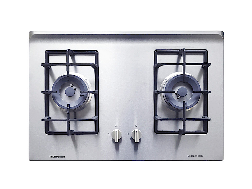 Tecno 70cm Stainless Steel Cooker Hob with Inferno Wok Burner (SR 828SV)