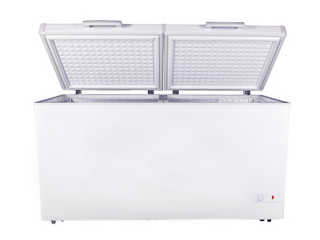 Tecno 450L Dual Function 2 Door Chest Freezer, TCF 450