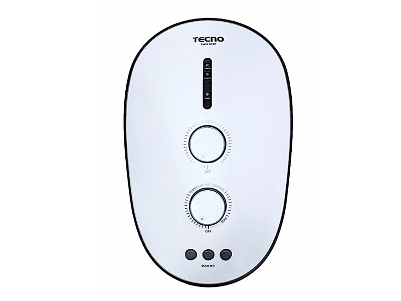 Tecno Instant Water Heater with Ultra-Silent DC Pump, TWH 909P