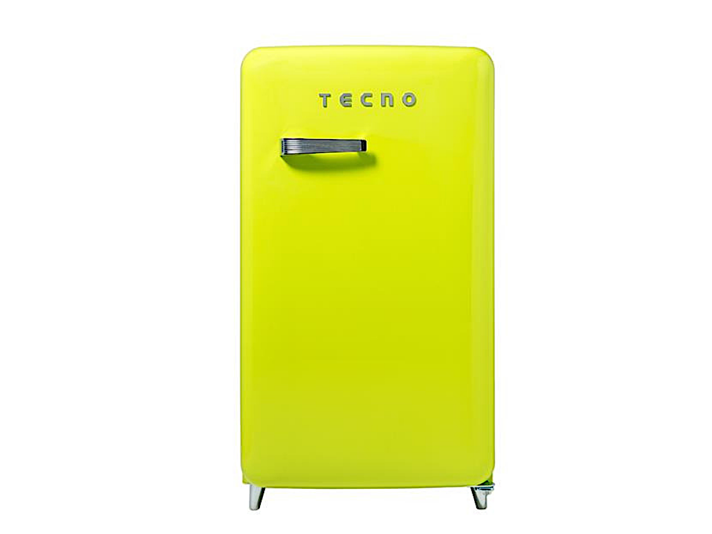 Tecno Retro Series Designer Fridge (Lemon)