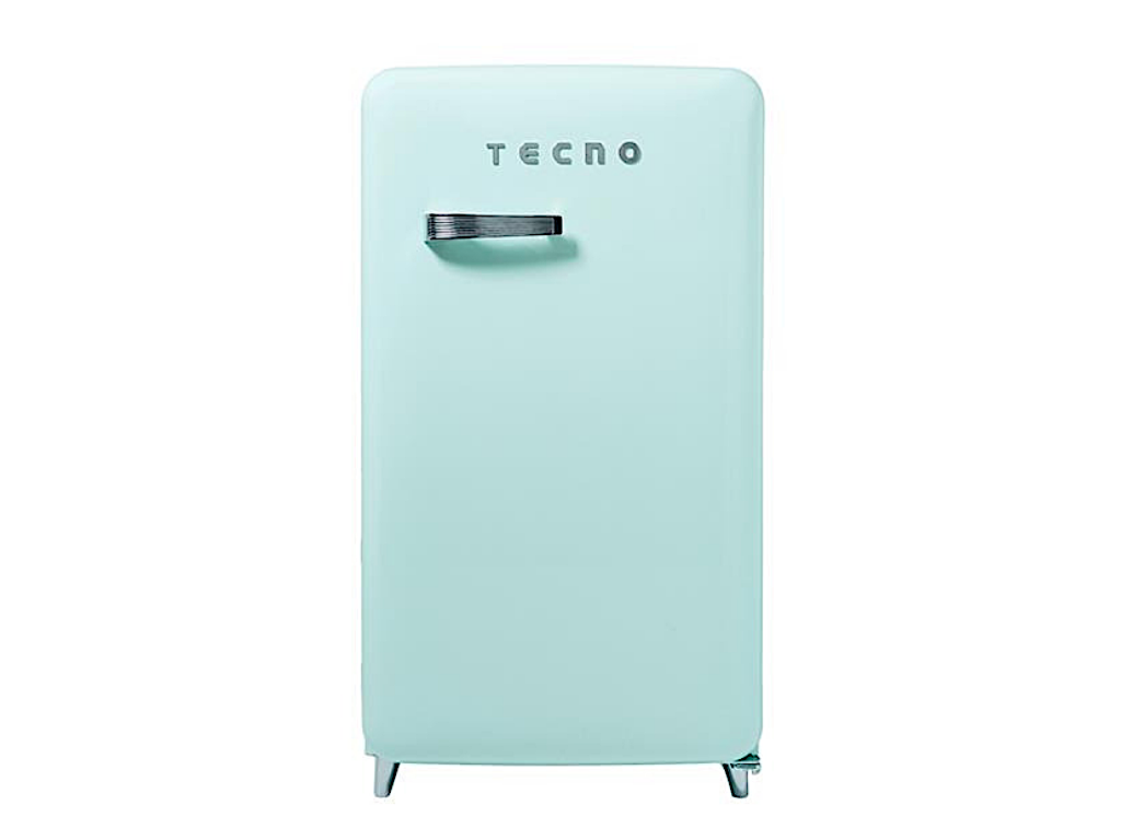 Tecno Retro Series Designer Fridge (Mint)