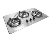 Tecno Stainless Steel Cooker Hob with Cyclonic Flame Technology (SR 888HPSV)