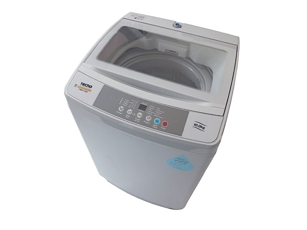 TECNO 10.0kg Top Load Washer (TWA1099) top view