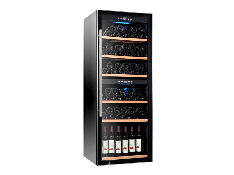 TECNO WINE CHILLER (113 Bottles) (Dual Temperature Zone), SW-126
