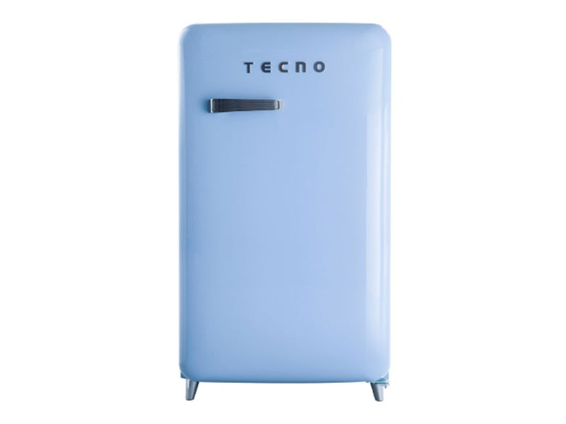 Tecno Retro Series Designer Fridge (Blue)