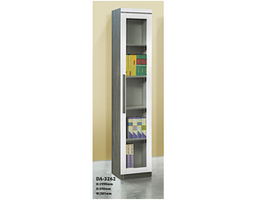 Tisha Glass Door Book Cabinet (DA3262)