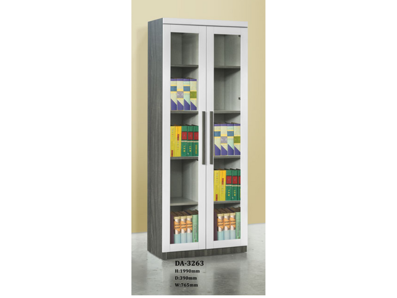 Tisha 2 Door Book Cabinet (DA3263)