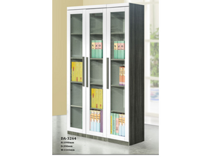 Tisha 3 Door Book Cabinet (DA3264)