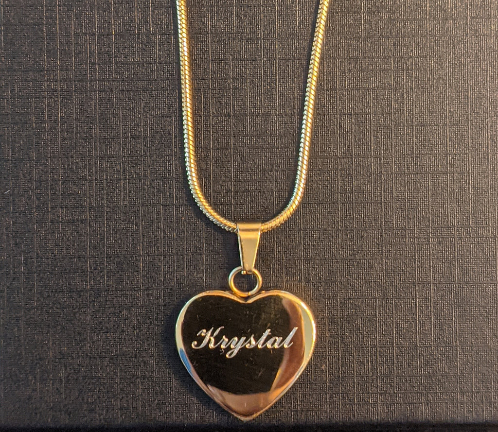 Love Necklace *Free Engraving*