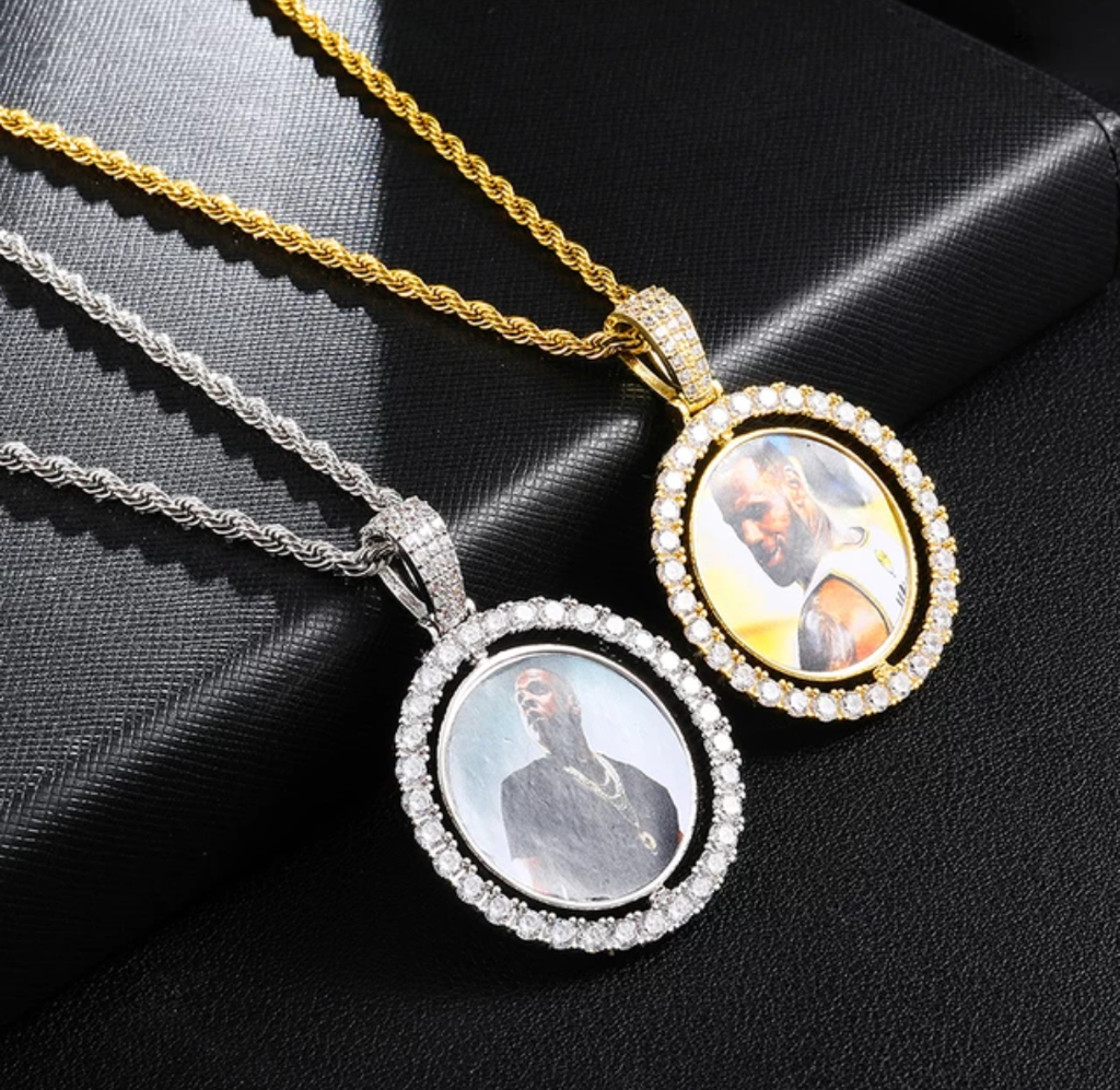 Love On Both Sides (rotating picture pendant)