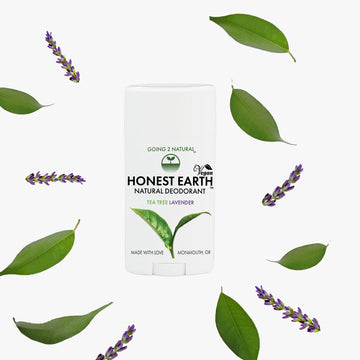 Tea Tree Lavender HONEST EARTH All-Natural Deodorant Stick