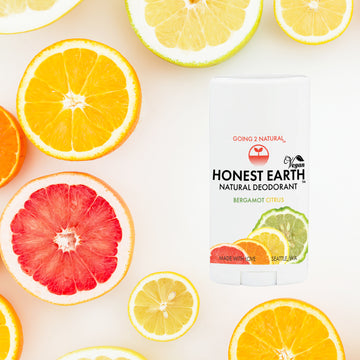 Bergamot Citrus HONEST EARTH All-Natural Deodorant Stick