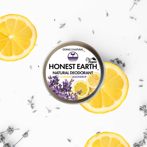 Lavender Lemondrop HONEST EARTH All-Natural Deodorant Paste