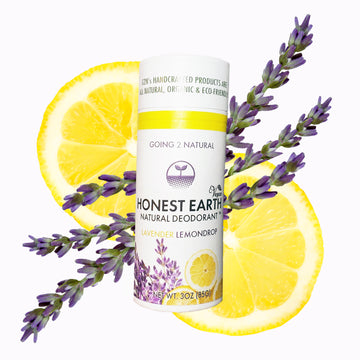 Lavender Lemondrop HONEST EARTH All-Natural Deodorant Stick