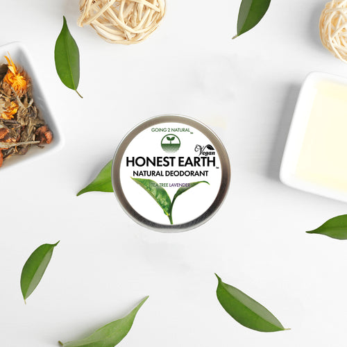Tea Tree Lavender HONEST EARTH All-Natural Deodorant Paste