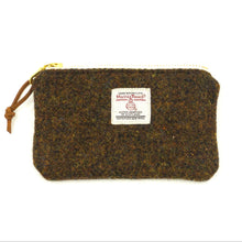 Load image into Gallery viewer, Harris Tweed Small Zipper Pouch