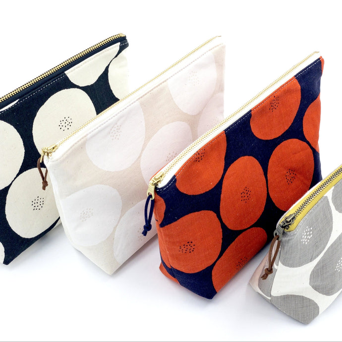 Large Zipper Pouch - Anpan